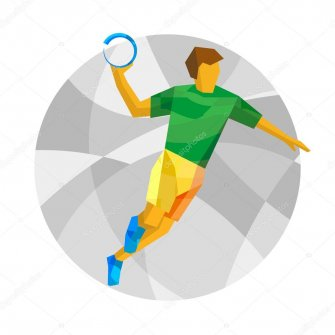 depositphotos 120575714-stock-illustration-handball-player-with-abstract-patterns